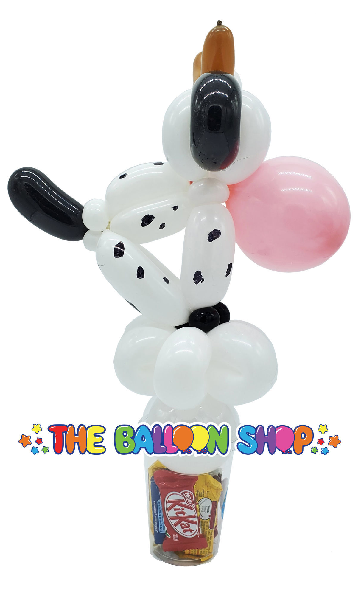 Picture of Cow - Balloon Candy Cup