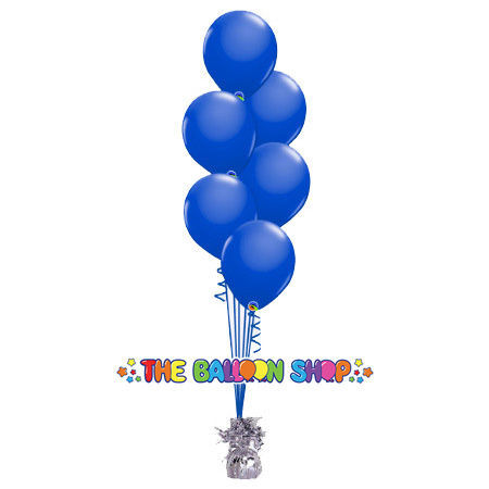 Picture of 11 Inch Helium Balloon Bouquet of 6