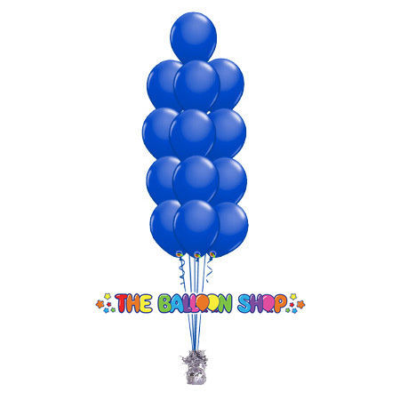 Picture of 11 Inch Helium Balloon Bouquet of 13