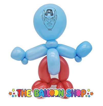 Picture of Captain America  Loopy - Balloon