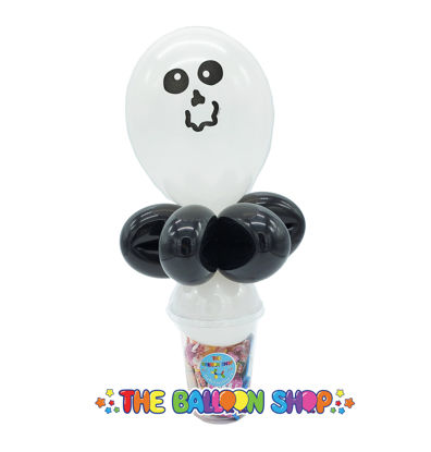 Picture of Ghost Face  - Balloon Candy Cup