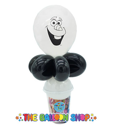 Picture of Olaf Face  - Balloon Candy Cup