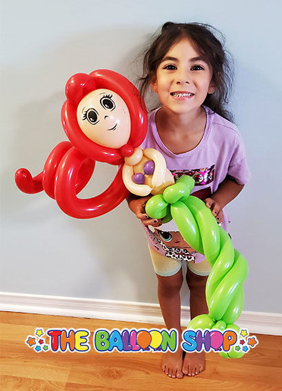 Picture of Deluxe Mermaid  - Balloon