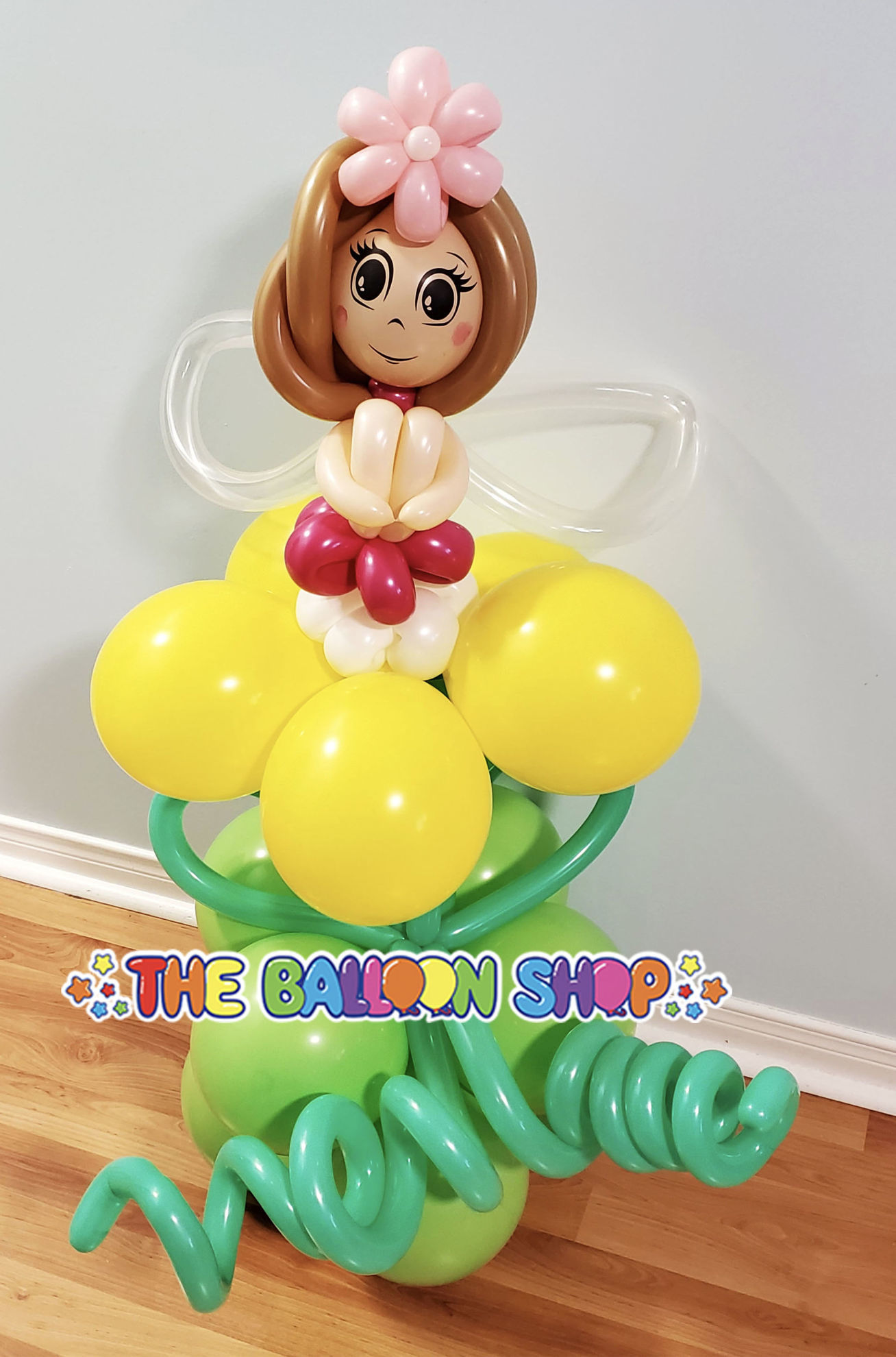 Picture of Sitting Fairy  - Balloon Centerpiece