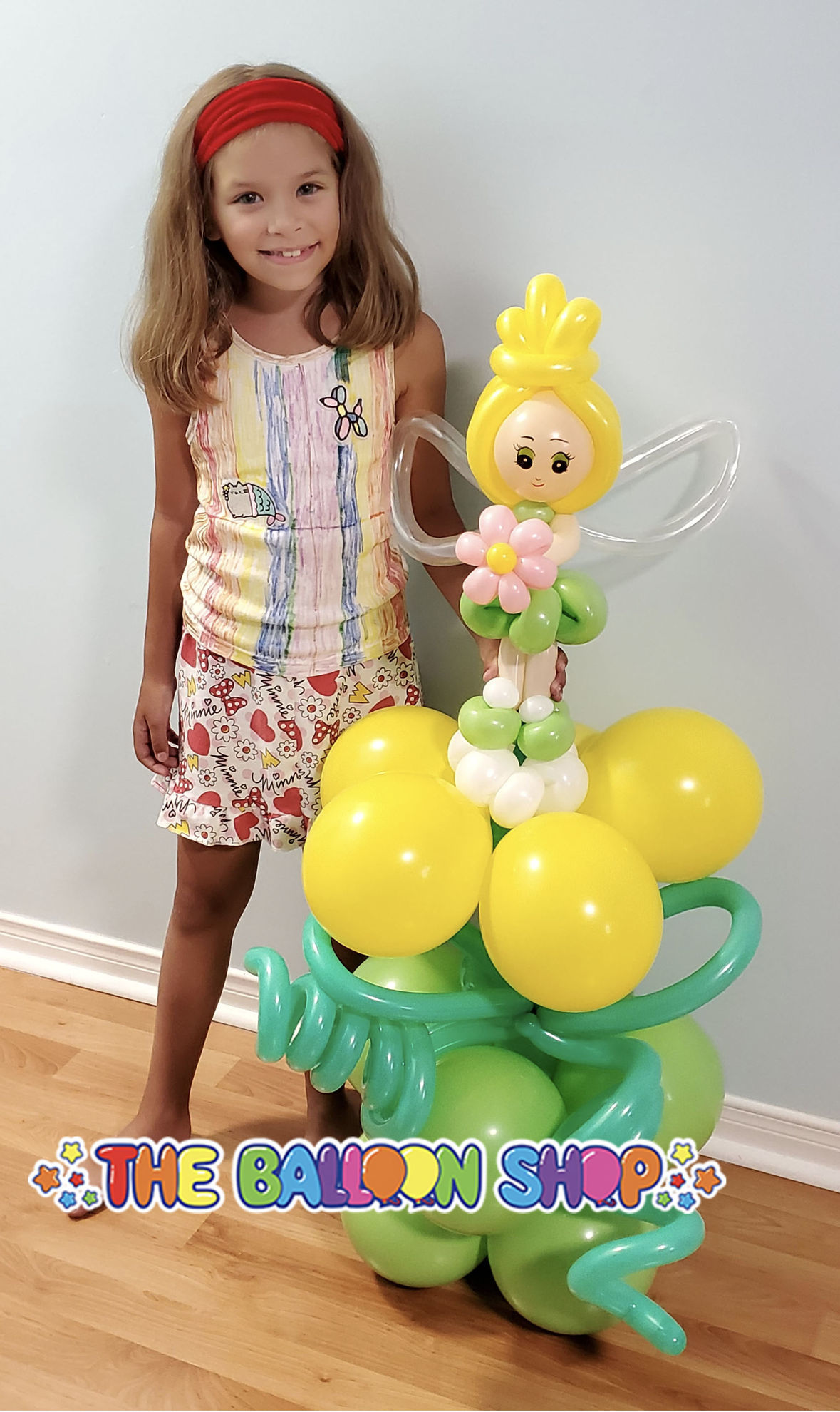 Picture of Standing Fairy  - Balloon Centerpiece