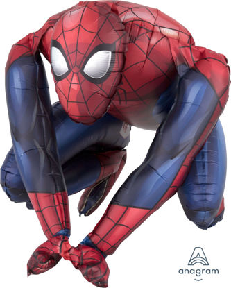 Picture of 15'' Sitting Spider-Man (air-filled)