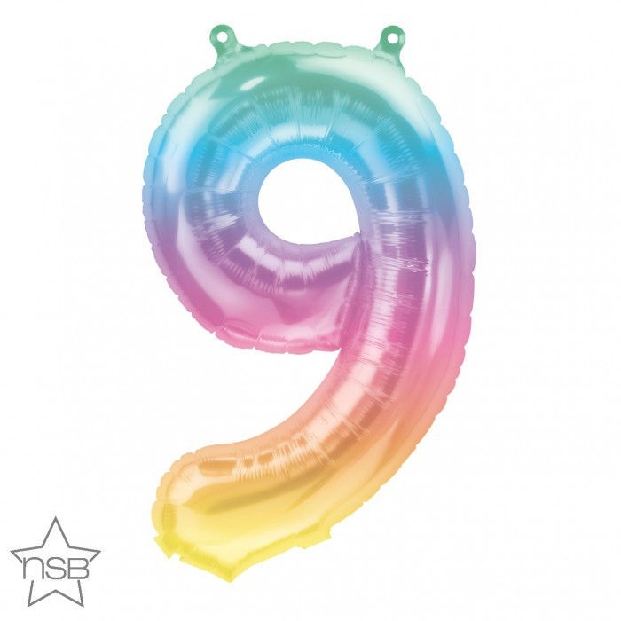"""Picture of 16"""" Number 9 Jelli Ombre (air-filled)"""