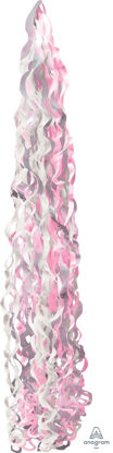 Picture of Twirlz Tissue Balloon Tail 34'' - Pink (1 pc)