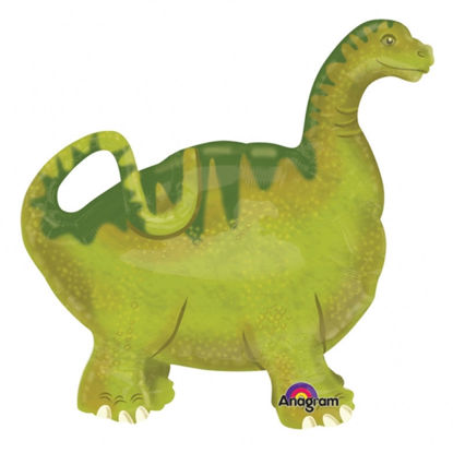 Picture of 24'' Baby Brach Dinosaur - Air Walker Balloon Buddies (helium - filled)