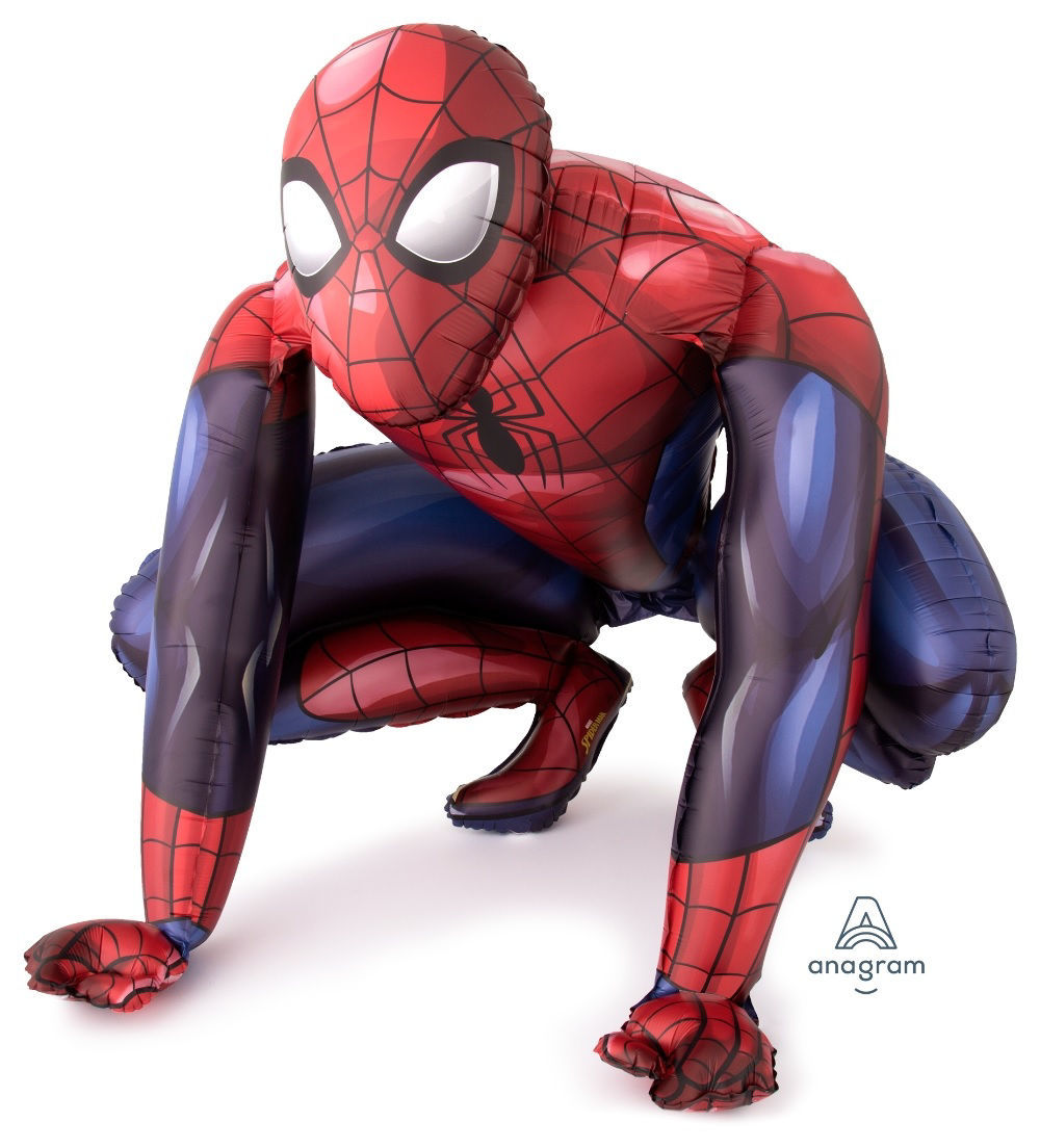 Picture of 36'' Giant Spider-Man  - Air Walker Balloon  (helium - filled)