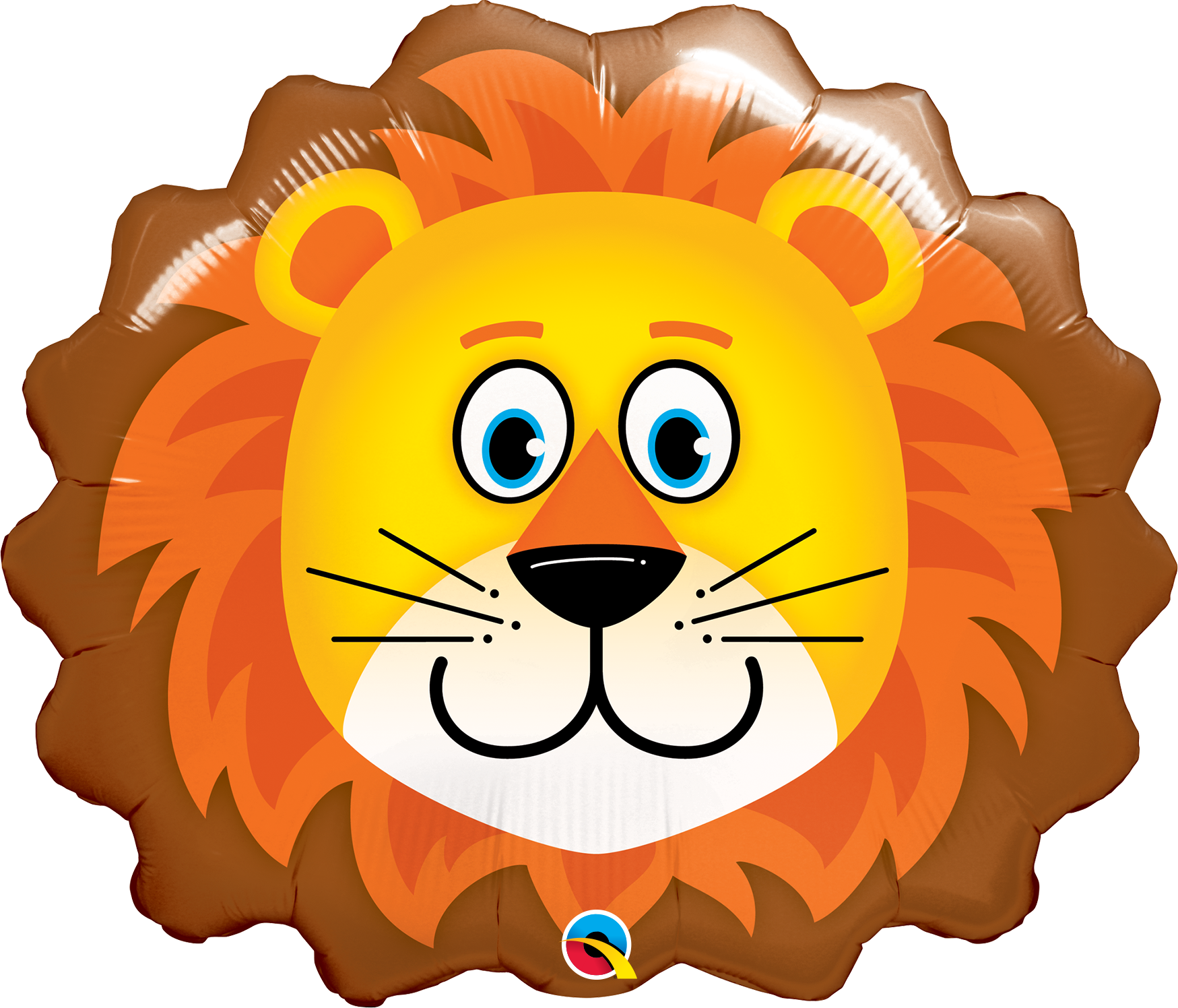 """Picture of 29"""" Lovable Lion Foil Balloon  (helium-filled)"""
