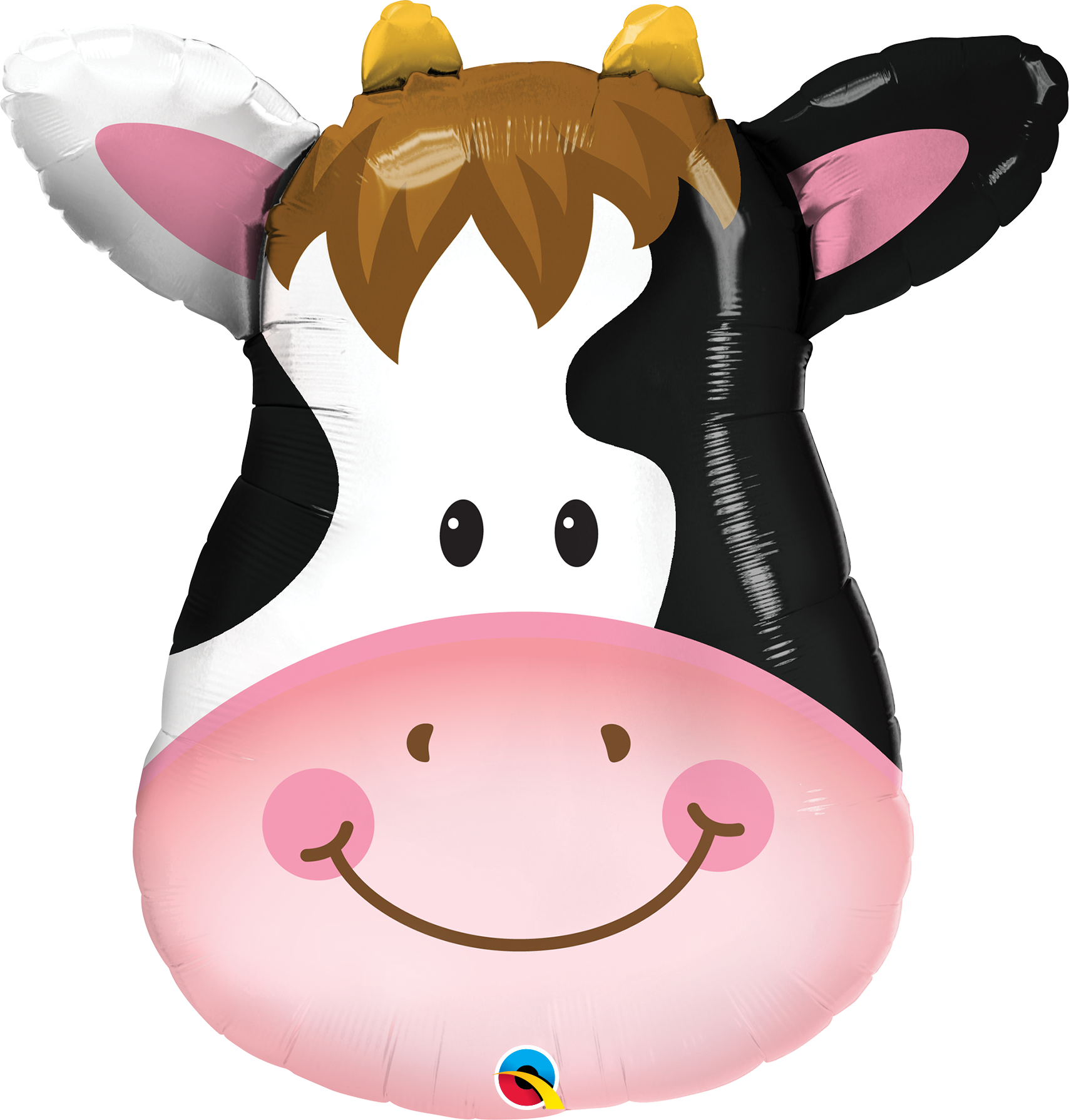 """Picture of 32"""" Contented Cow Foil Balloon  (helium-filled)"""