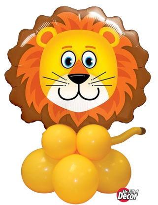 Picture of Lovable Lion Balloon Centerpiece