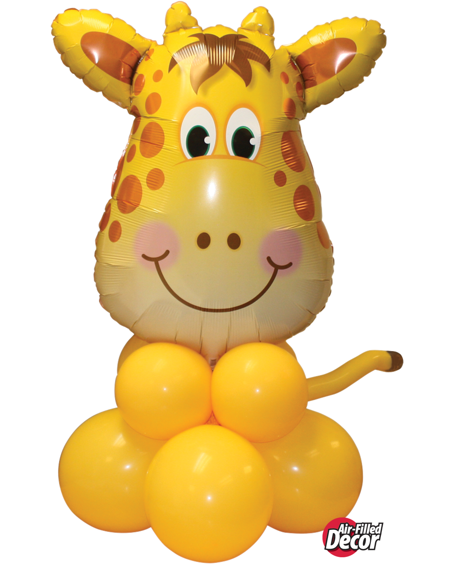 Picture of Jolly Giraffe Balloon Centerpiece