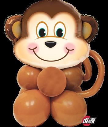 Picture of Mischievous Monkey Balloon Centerpiece