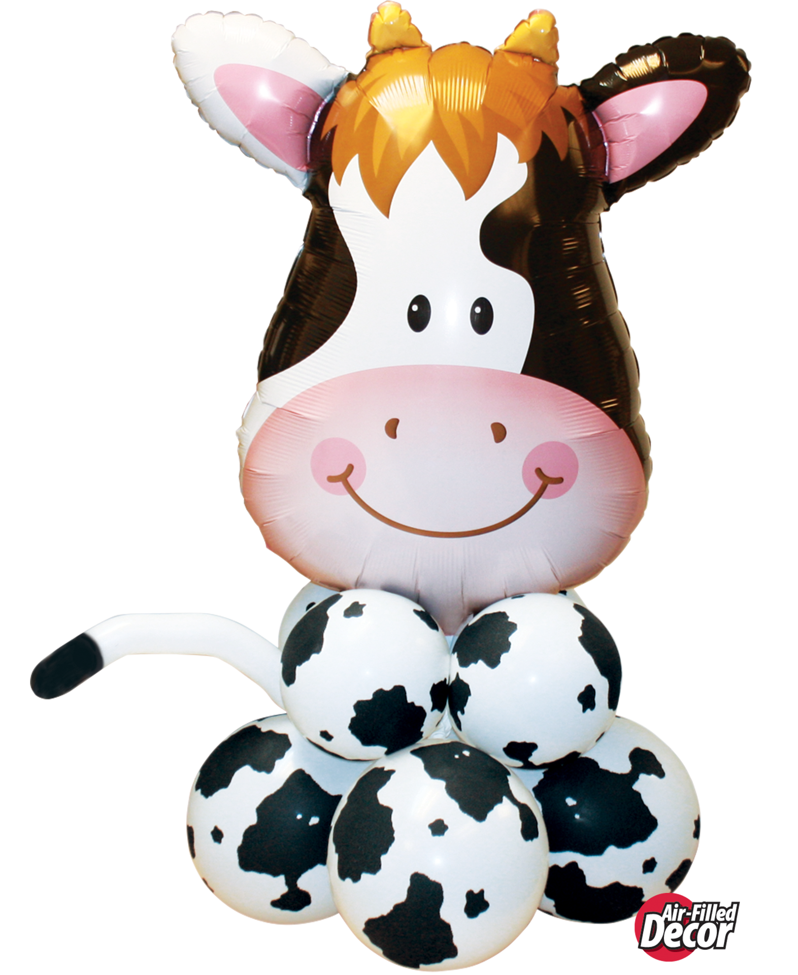 Picture of Contented Cow Balloon Centerpiece