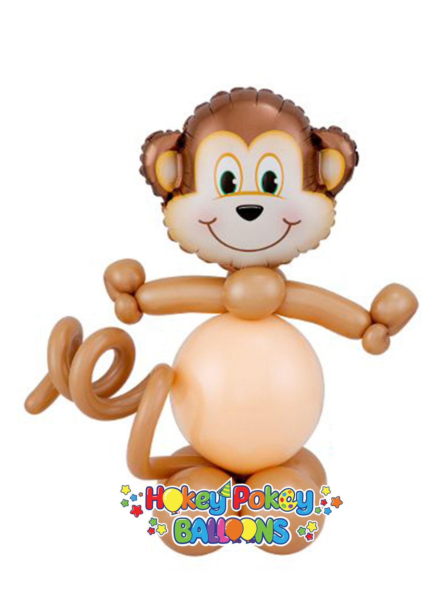 Picture of Mini Mischievous Monkey - Balloon Centerpiece