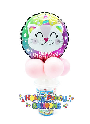 Picture of Birthday Caticorn - Balloon Candy Cup