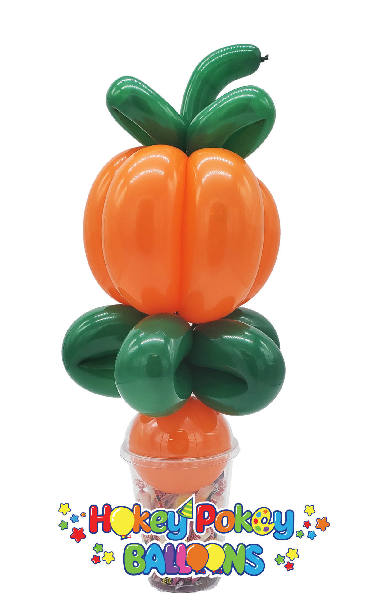 Picture of Pumpkin  - Balloon Candy Cup
