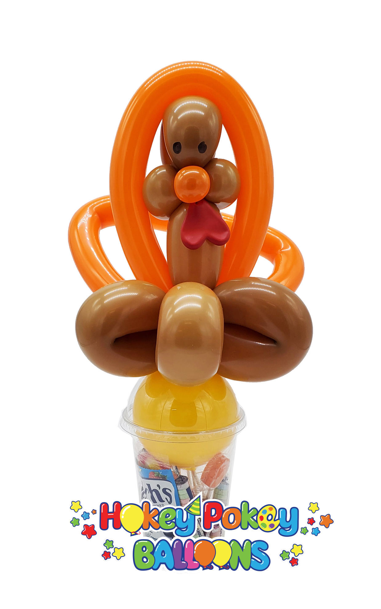 Picture of Turkey   - Balloon Candy Cup