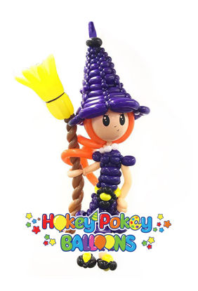 Picture of Cute Witch Balloon - Large