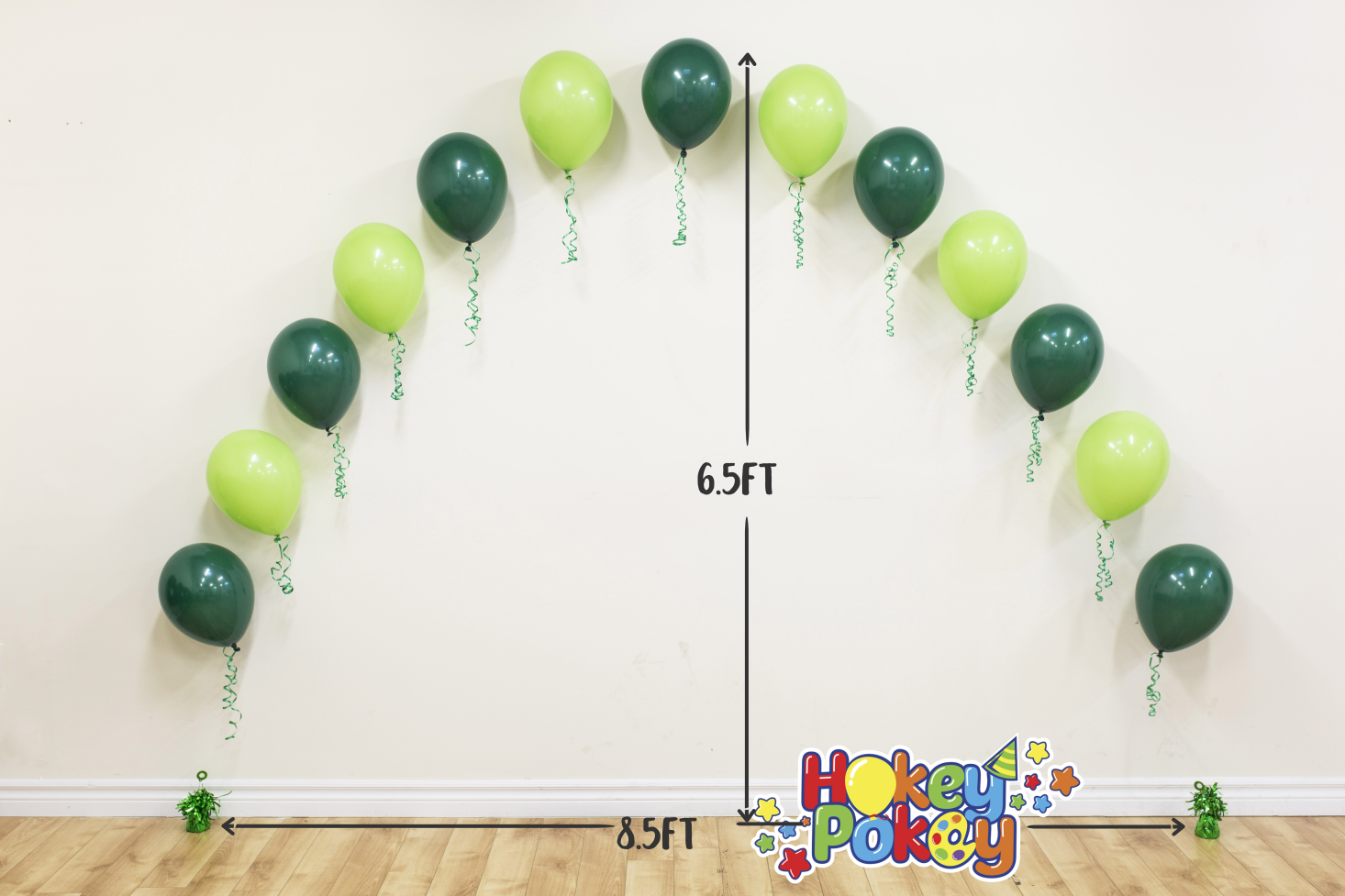 Picture of String of Pearl Arch - 8.5Ft (helium inflated)