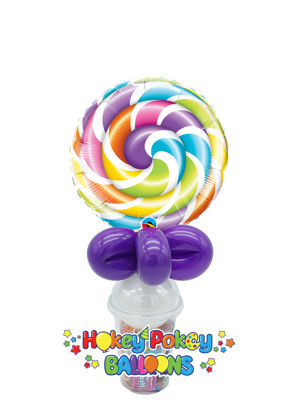 Picture of Lollipop Foil - Balloon Candy Cup