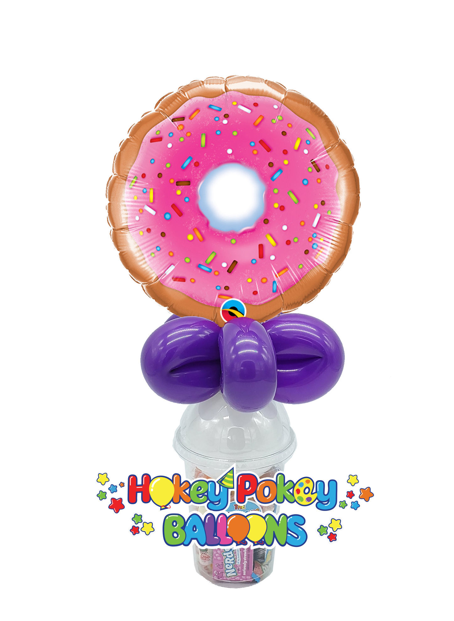 Picture of Donut - Balloon Candy Cup