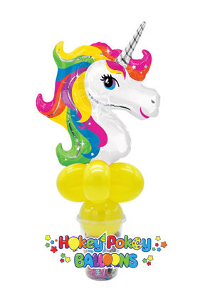 Picture of Unicorn Foil - Balloon Candy Cup