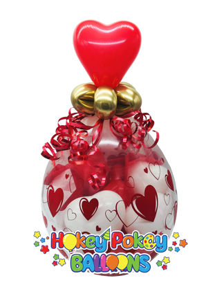 Picture of Sweetheart Stuffed Balloon Gift