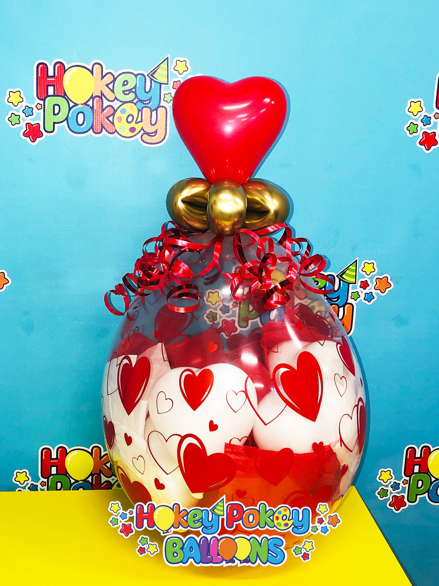Picture of Sweetheart Stuffed Balloon Gift