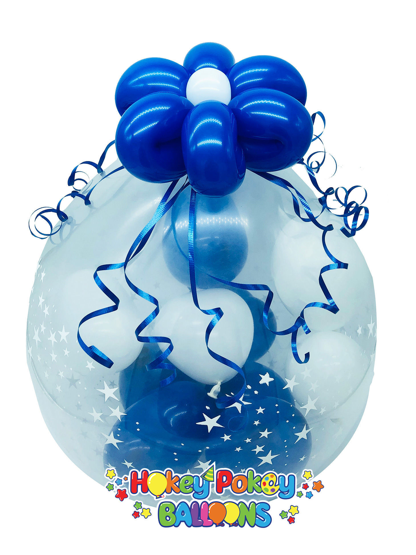 Picture of Mini Chocolate Burst - Stuffed Balloon Gift