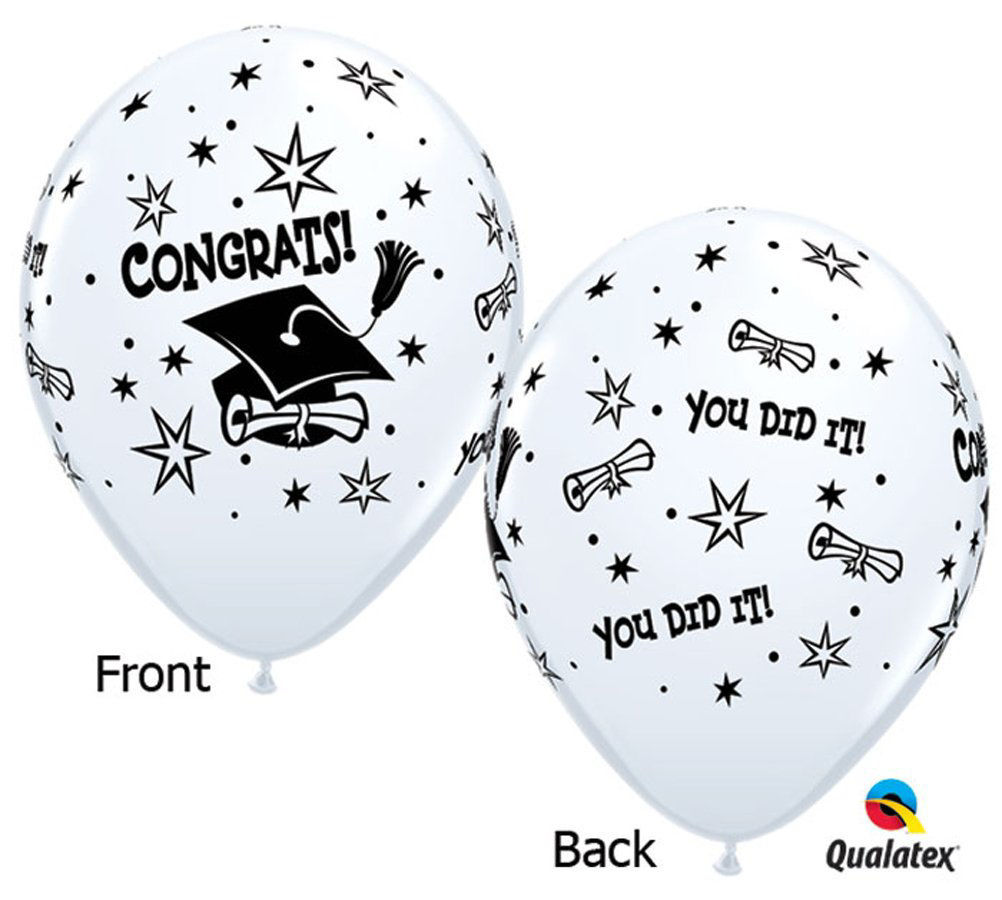 "Picture of 11"" Graduation congrats! Balloon Candy Cup"