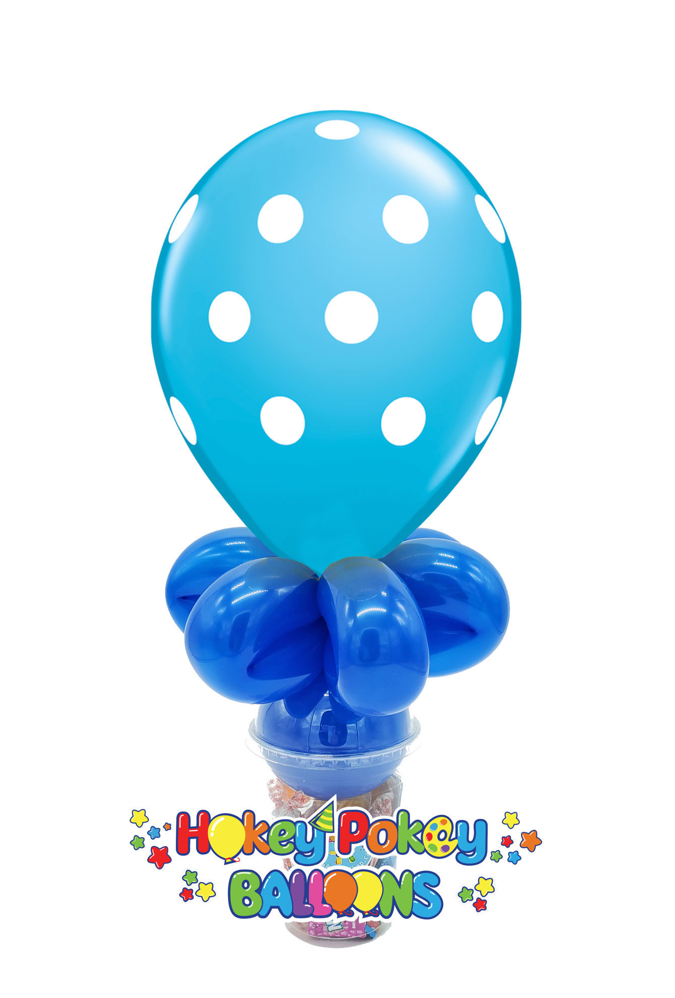 "Picture of 11"" Polka Dot  - Balloon Candy Cup"
