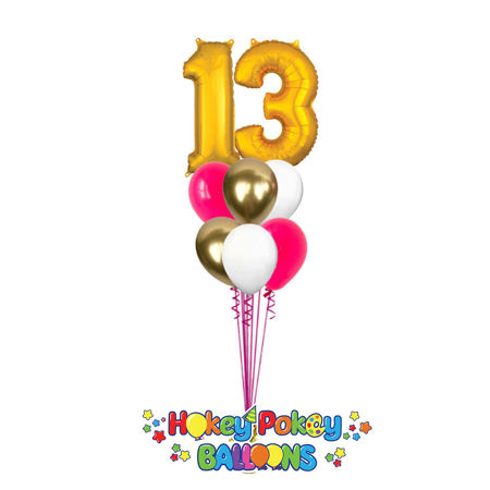 Picture for category Number's Balloon Bouquet