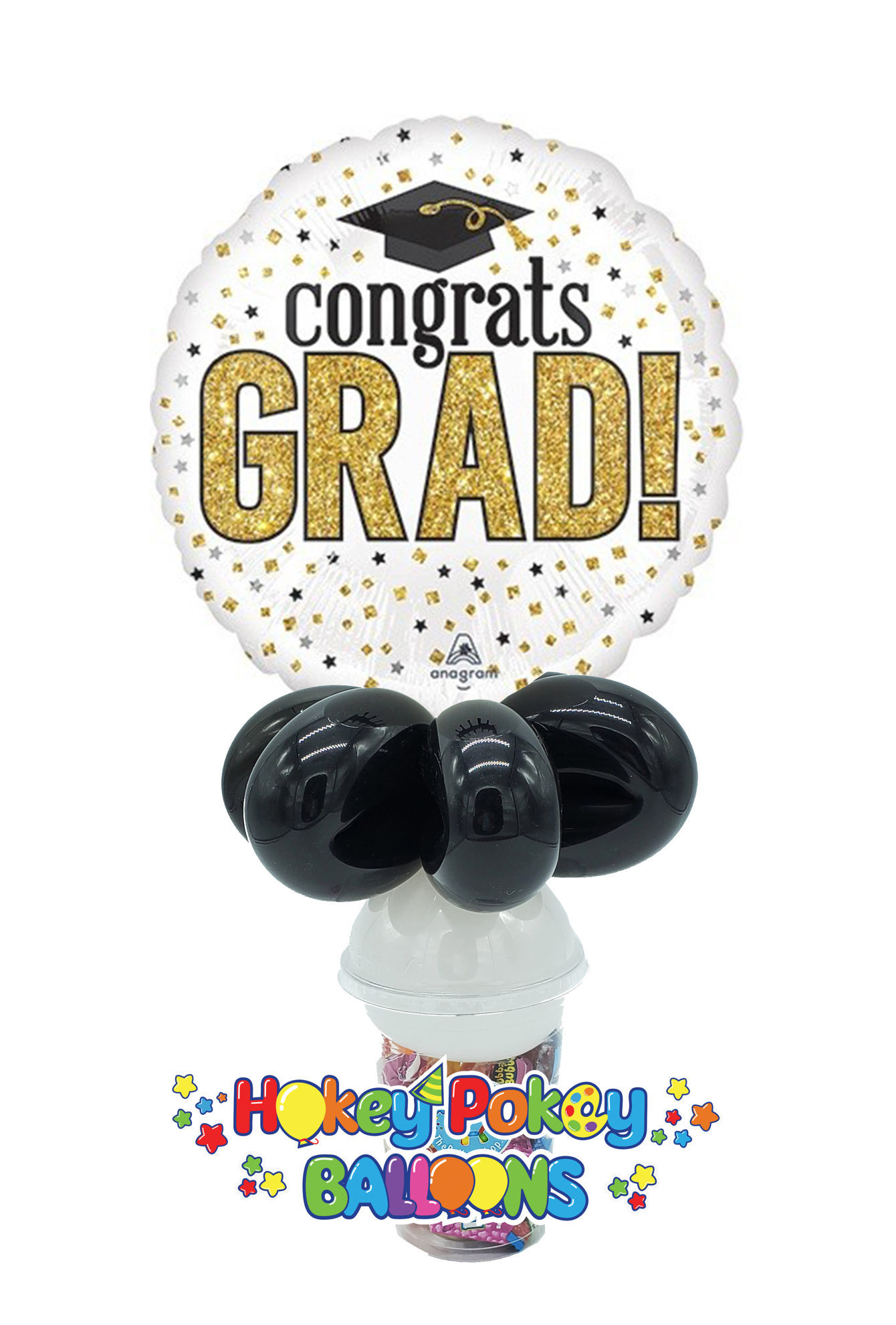 Picture of Grad Sparkle - Balloon Candy Cup