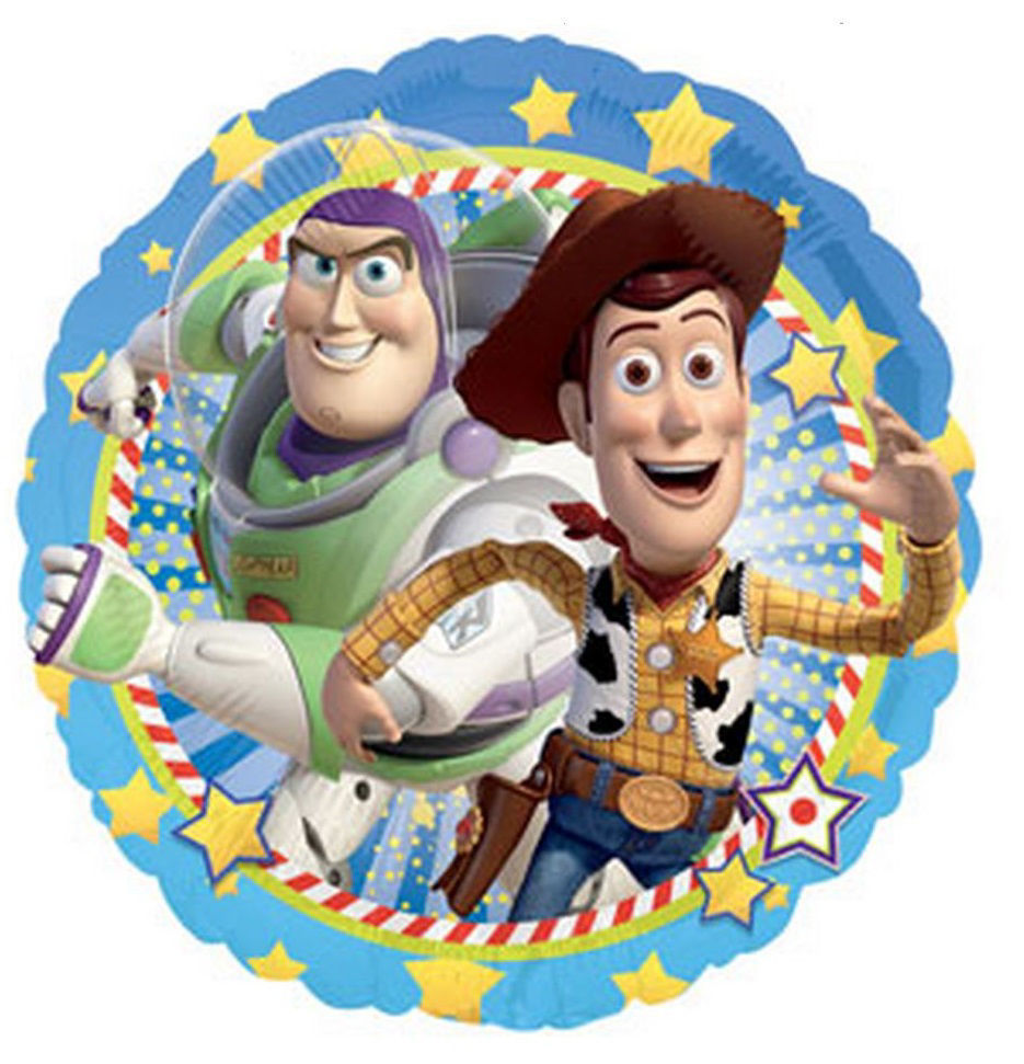 "Picture of 18""  Woody and Buzz Lightyear - Toy Story Foil Balloon (helium-filled)"