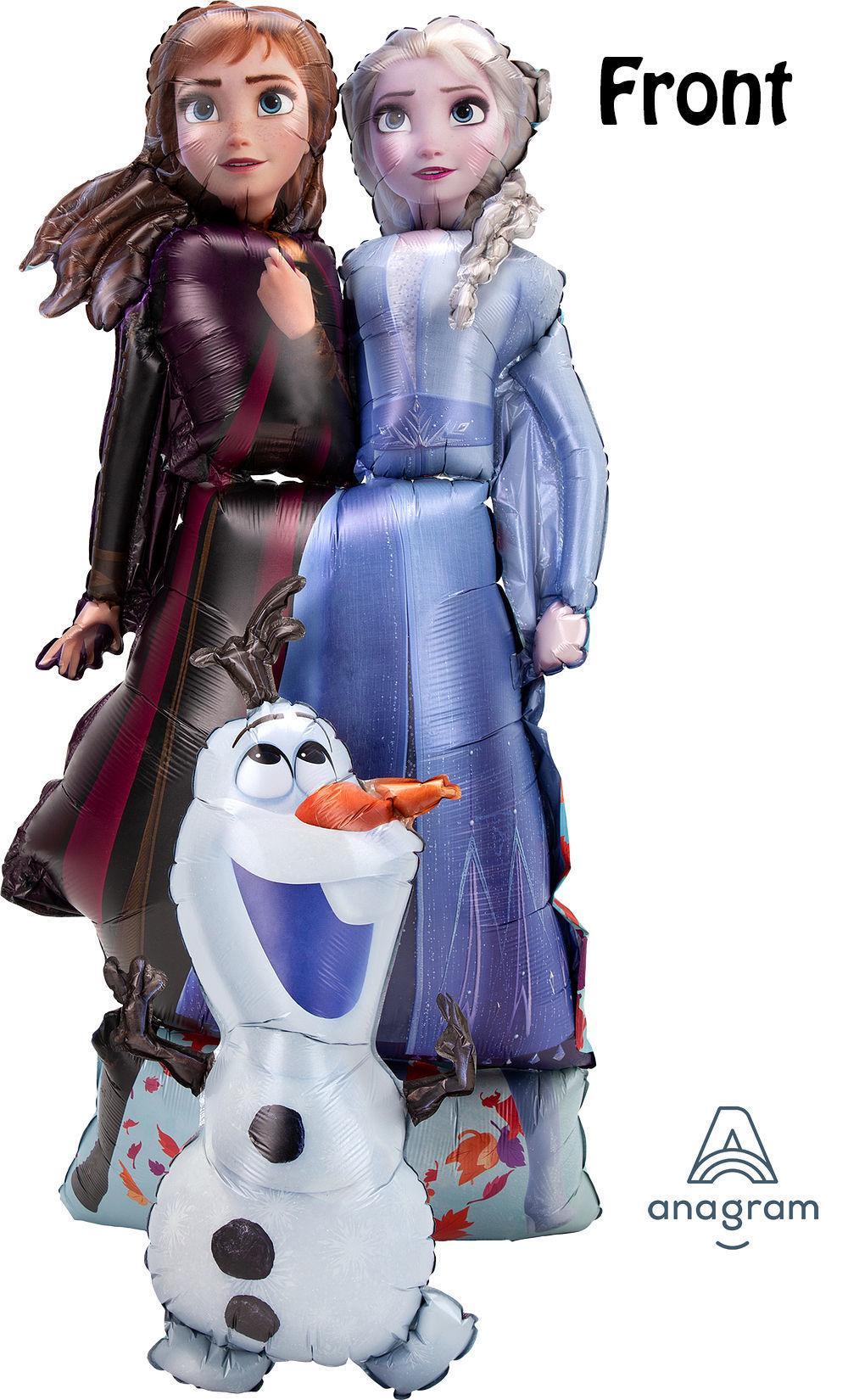 Picture of 58''Frozen 2 Elsa, Anna, Olaf - Airwalker Balloon  (helium - filled)