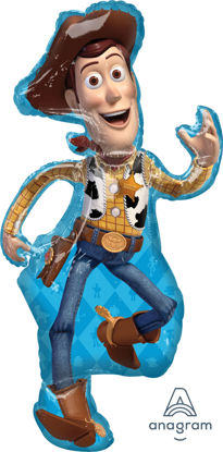"""Picture of 44"""" Toy Story 4  - Woody Foil Balloon  (helium-filled)"""