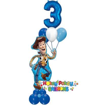 Picture of Toy Story with Woody Balloon Arrangement