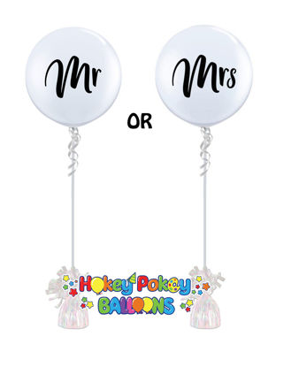 Picture of Mr. or Mrs.  3FT Giant Balloon (helium-filled)
