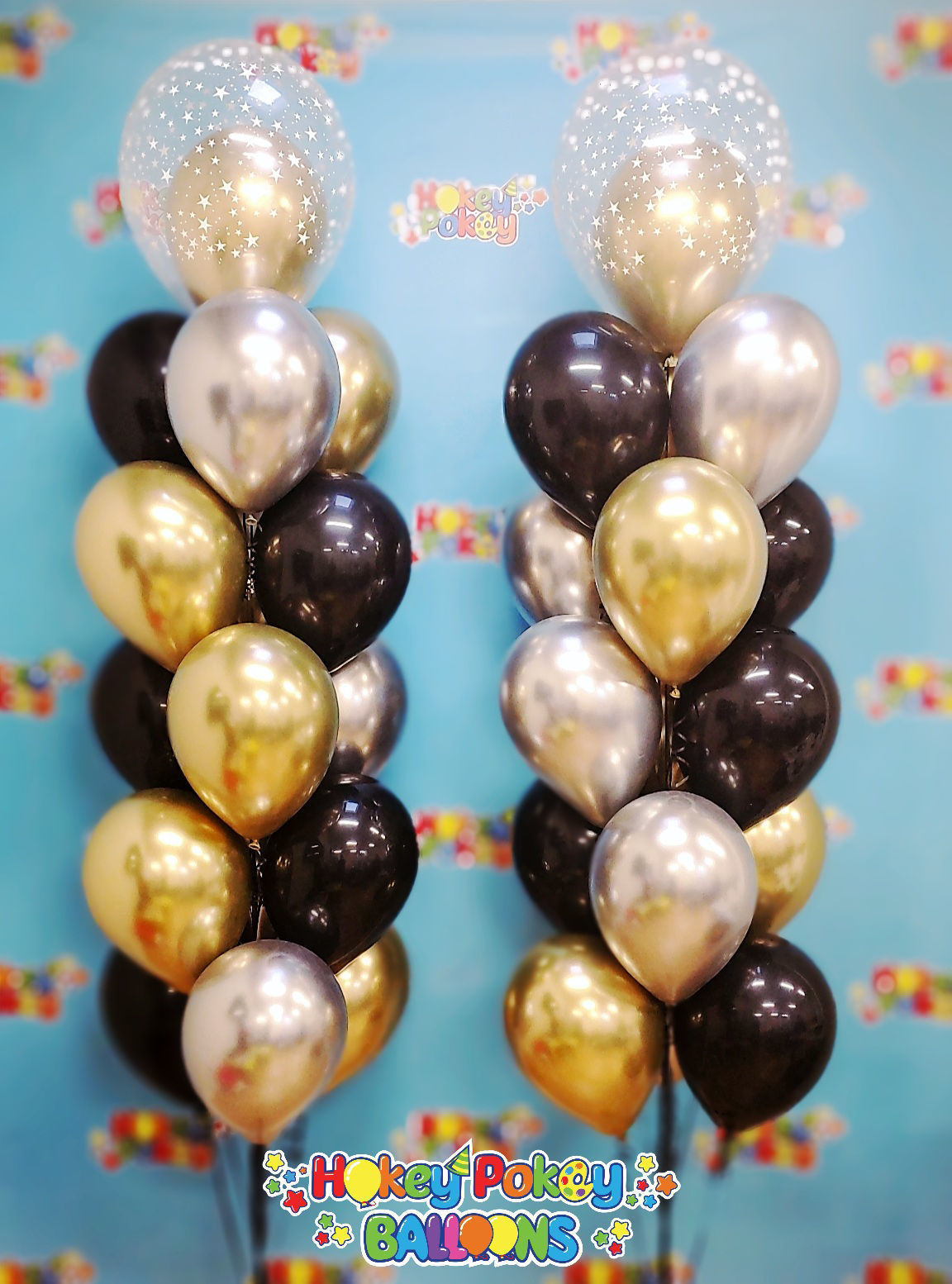 Picture of Let's Celebrate in Style - Luxury Balloon Bouquet