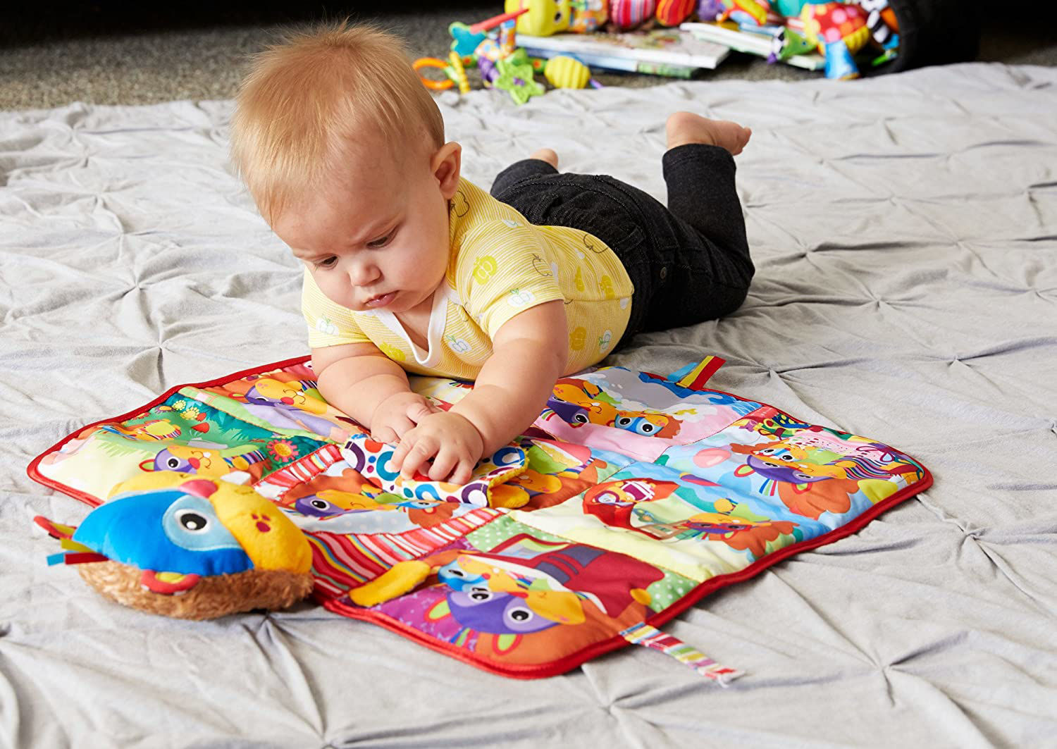 Picture of Lamaze Pierre's Perfect Day Blanket Book - Play Mat