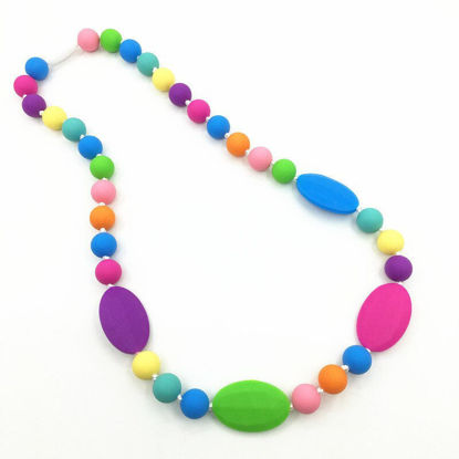 Picture of Rainbow Silicone Teething Necklace