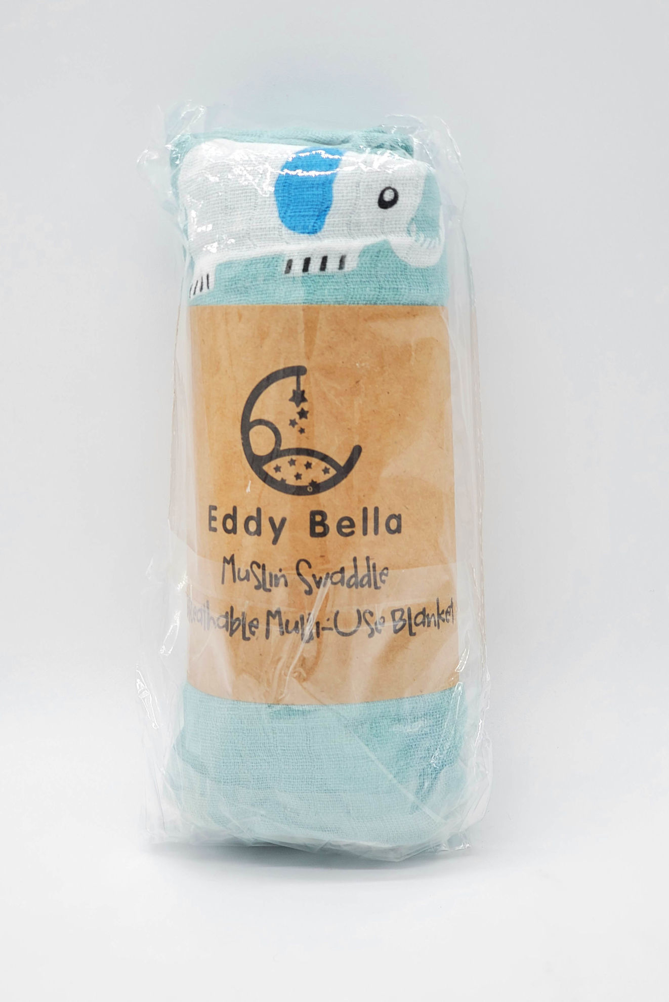 Picture of Eddy Bella Muslin Swaddle Baby Blanket ( 100%Cotton )