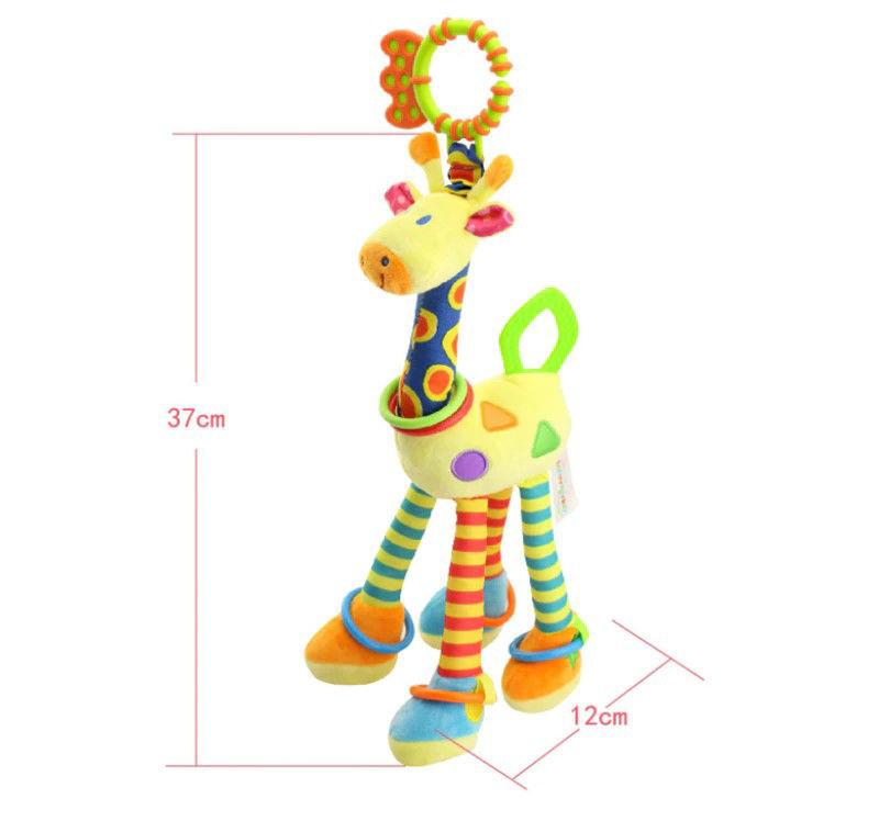 Picture of Plush  Giraffe Toy for Stroller & Crib