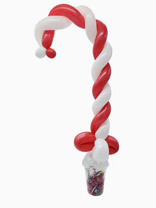 Picture of Candy Cane - Balloon Candy Cup